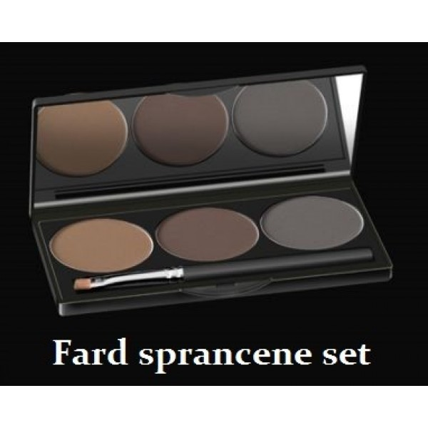 Fard de sprâncene set 3 pcs
